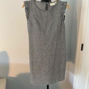 Cynthia Rowley Gingham dress with ruffle detail